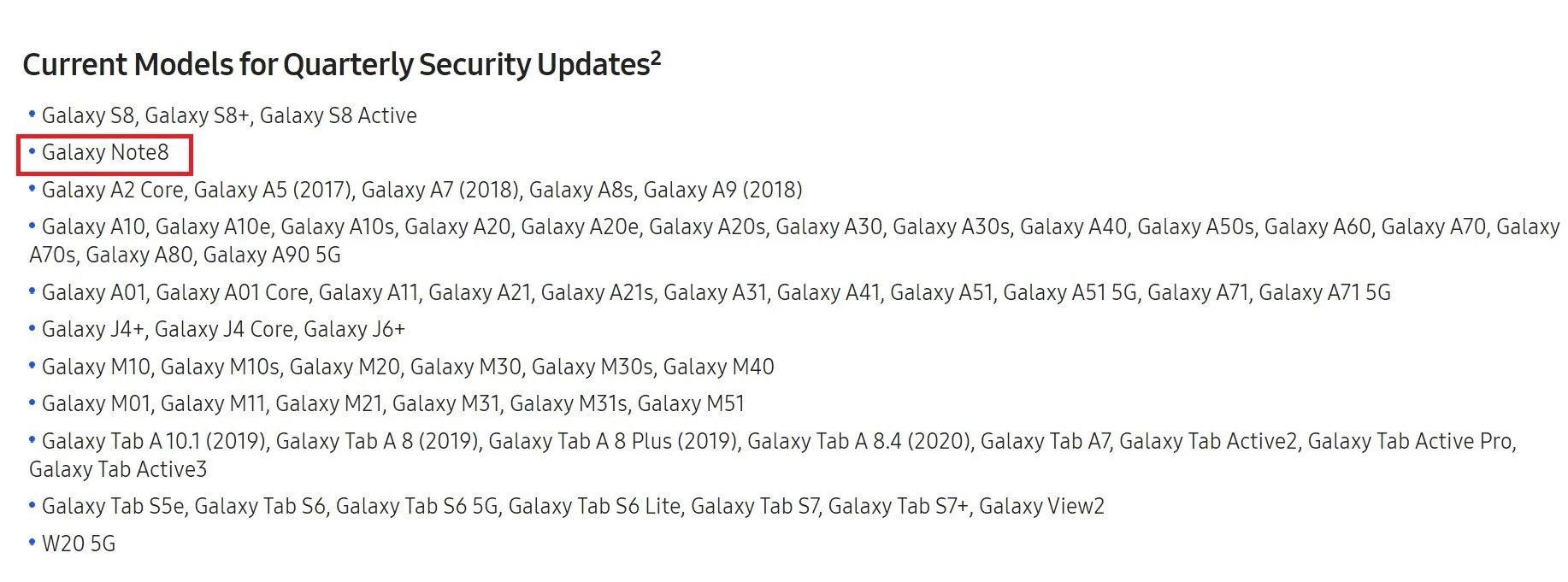 Galaxy Note 8 Sahipleri İçin Kötü Haber Geldi
