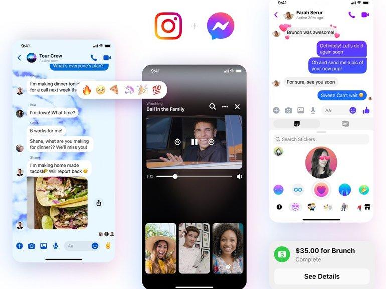 """Facebook, Messenger Uygulamasının Simgesini Yıllar Sonra """"Makyajlıyor"""""""