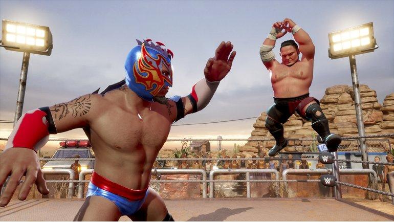 WWE 2K Battlegrounds Karakter Geliştirme