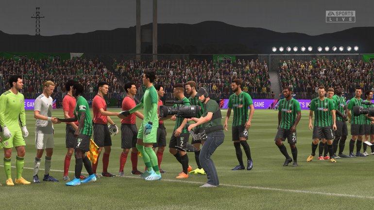 Görsel açıdan FIFA 21...