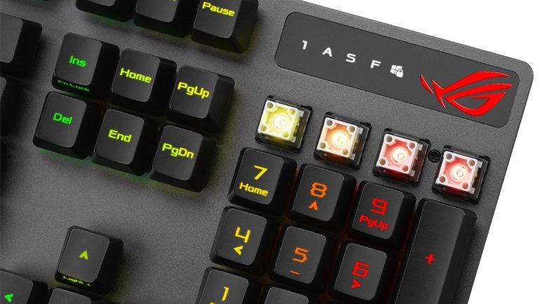 ROG, RX Optik Mekanik Anahtarlara Sahip Yeni Klavyesini Duyurdu