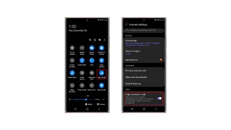 Samsung'un İnternet Tarayıcısı Yepyeni Özelliklerle Güncellendi!