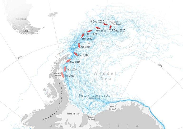 Antarktika'dan Kopan Dev Buzul Harekete Geçti. Peki Şimdi Ne Olacak?