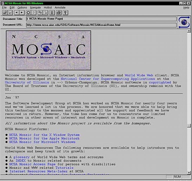 Erwise, Mosaic ve Diğerleri: 90'lı Yılların Unutulmaz İnternet Tarayıcıları