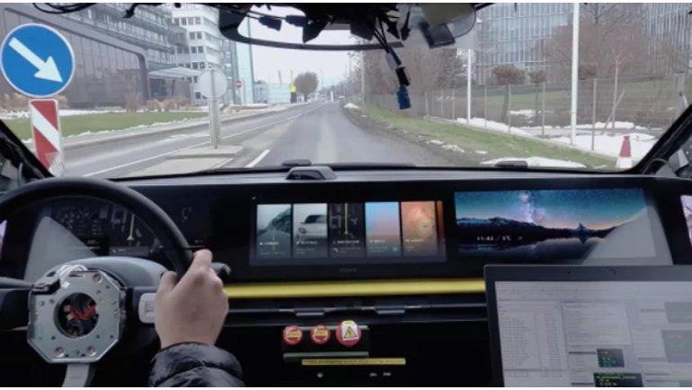 Sony, CES 2021'de Vision-S Elektrikli Arabasını Gün Yüzüne Çıkardı