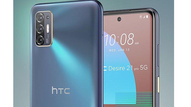 """HTC'den """"Sessiz Sedasız"""" Geri Dönüş: HTC Desire 21 Pro 5G Tanıtıldı!"""