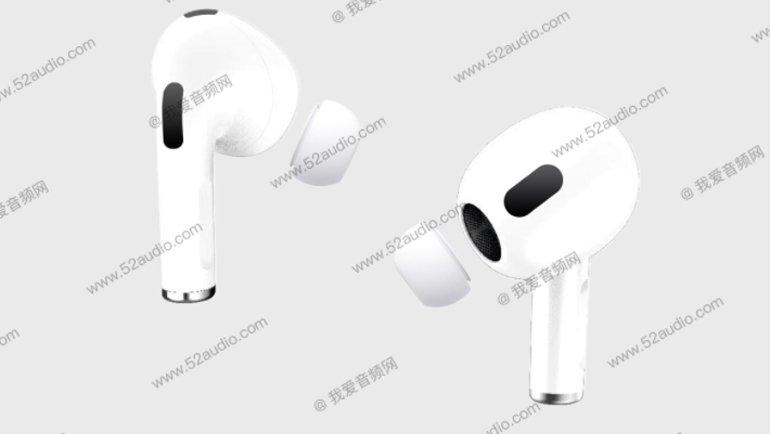 Apple AirPods 3'ün Nasıl Görüneceği, İlk Kez İnternete Sızdı