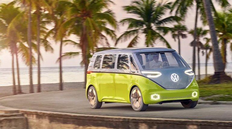 Volkswagen'in ID Buzz'ı, yeni Çizimlerle Birlikte İyiden İyiye Ortaya Çıktı