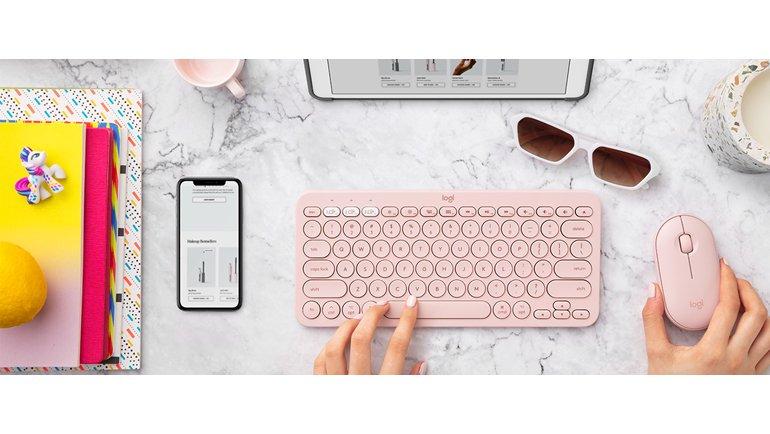 Logitech K380 Multi-Device Bluetooth Klavyeye Yeni Renk