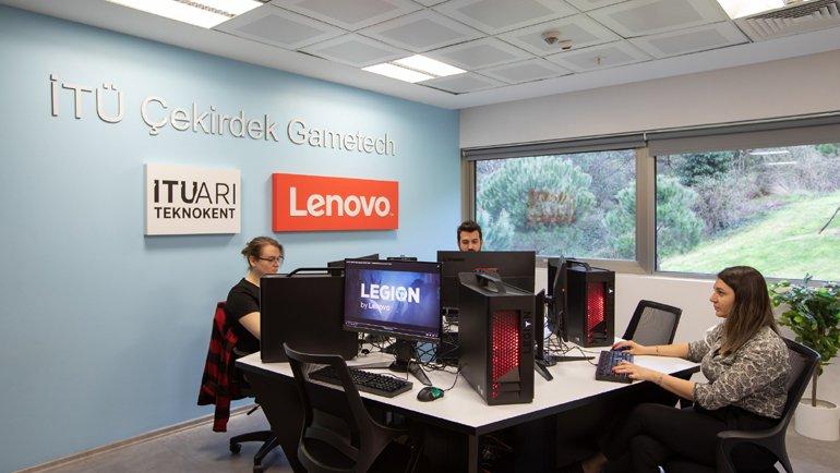 Lenovo Desteğiyle İTÜ ARI Teknokent'te Yazılım Laboratuvarı Kuruldu!