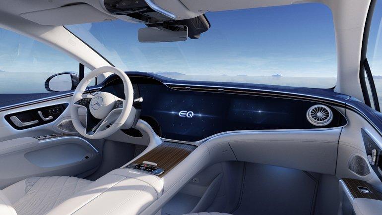 Mercedes-EQ'nun Lüks Sınıftaki İlk Elektrikli Otomobili EQS Tanıtıldı