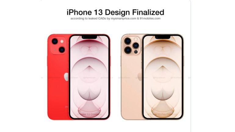 iPhone 13 ve iPhone 13 Pro'nun Muhtemel Final Tasarımı Sızdı