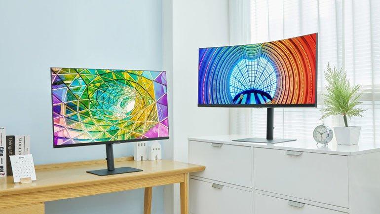 Samsung Yeni Yüksek Çözünürlüklü Monitör Serisini Piyasaya Sürüyor!