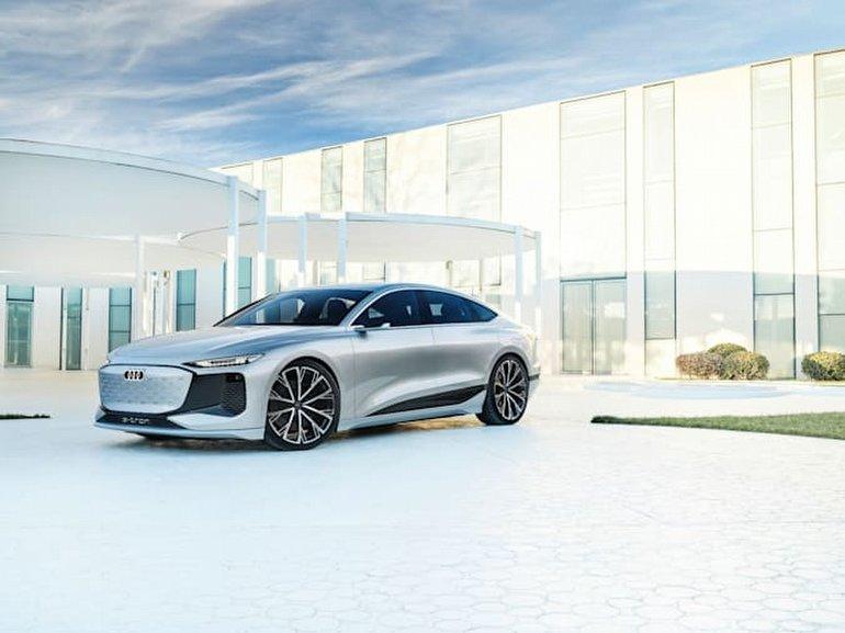 Audi, Büyüleyici A6 e-tron Konsept Elektrikli Sedanını Tanıttı