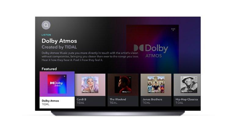 TIDAL Uygulaması LG Smart TV'lere Eklendi