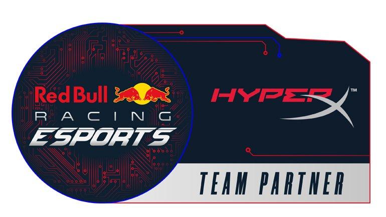 HyperX, Red Bull Racing Esports Takımının Sponsoru Oldu