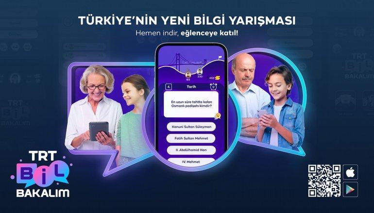 Türkiye'nin Yeni Bilgi Yarışması Uygulaması: TRT Bil Bakalım