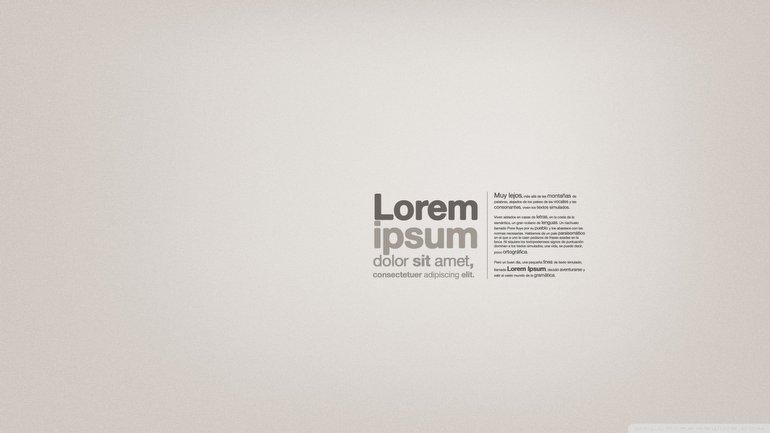 İnternette Sıklıkla Karşımıza Çıkan Lorem Ipsum Nedir? Lorem Ipsum Ne Demek