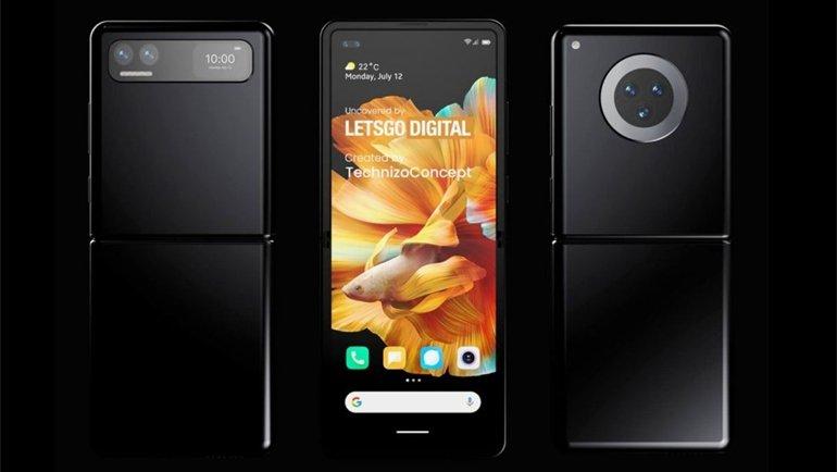 Xiaomi'den Galaxy Z Flip Benzeri Telefon Geliyor!