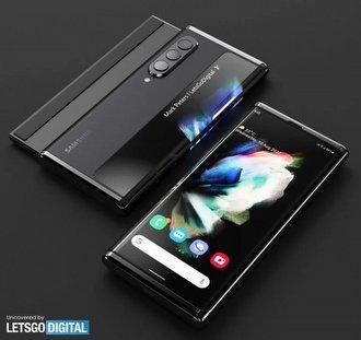 """Samsung'un Yuvarlanabilir Ekranlı Telefon Patentini Böyle """"Canlandırdılar"""""""