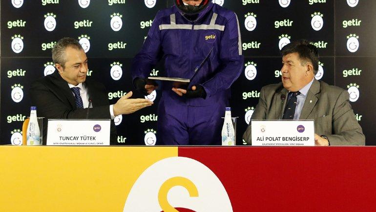 Getir, Galatasaray'ın Yeni Forma Sponsoru Oldu