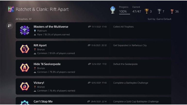 PlayStation 5 Kupaları Artık Daha Rahat Görülebilecek