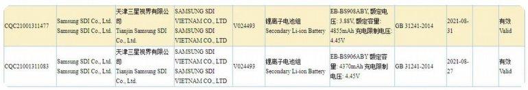 Samsung'un Galaxy S22 Serisinde Kullanacağı Piller de Sızdı!