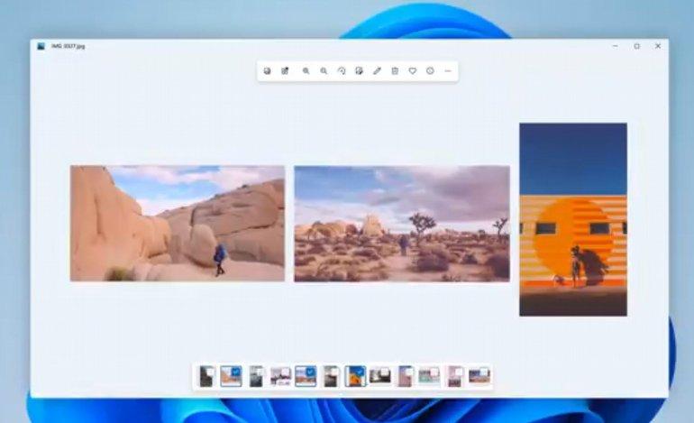 Windows 11 ile Windows'un Bir Uygulaması Daha Yenileniyor: Fotoğraflar!