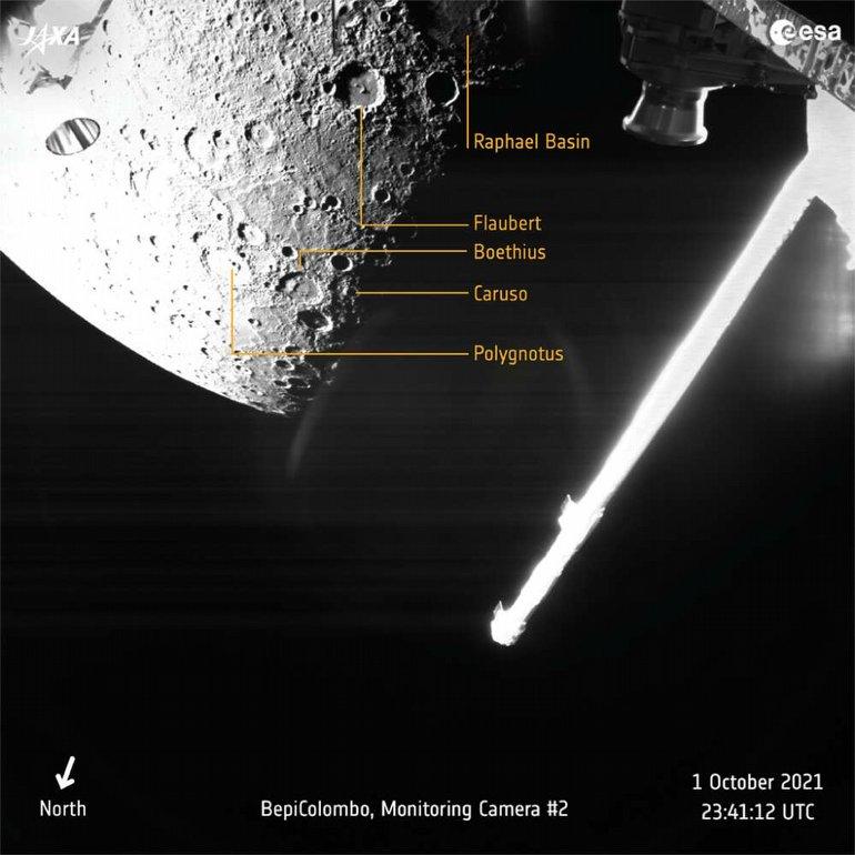 Merkür'ü Hiç Bu Kadar Detaylı Görmemiştik: BepiColombo'dan İlk Görüntüler!