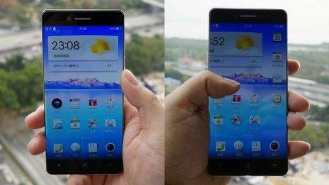 Oppo'dan çok ince kenarlı telefon!