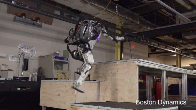 Robotlar yükseliyor!