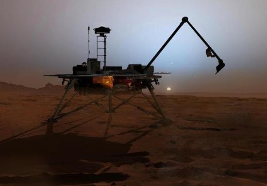 Mars'tan ilk görüntü geldi