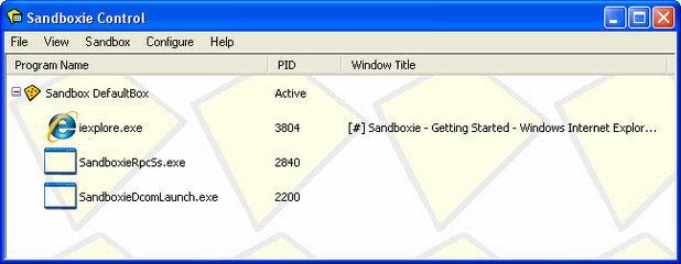 Chip Sandboxie
